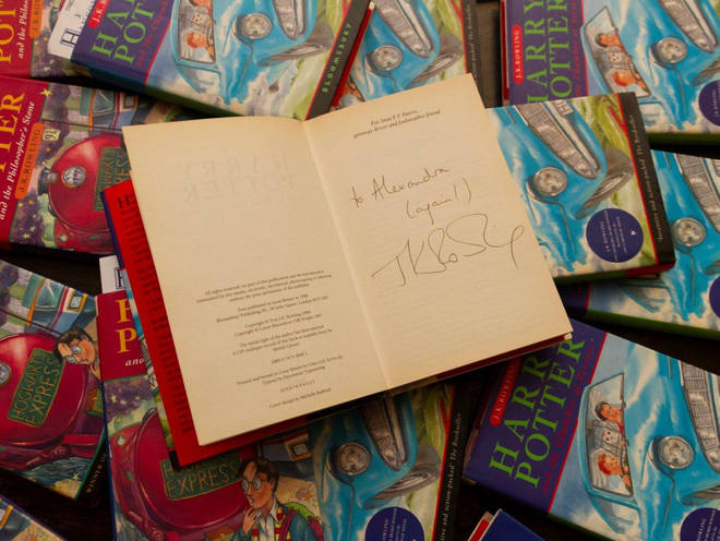 A Harry Potter book bought for 1p has sold for £2,300 at auction