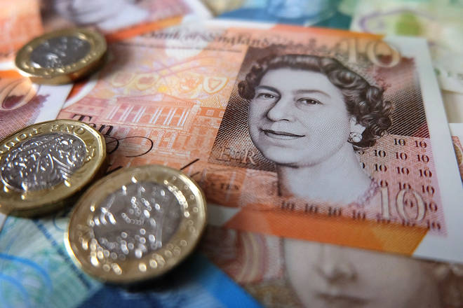 The pound has spiked following the election poll