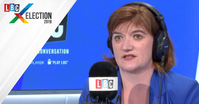 Nicky Morgan's Reaction To The Exit Poll