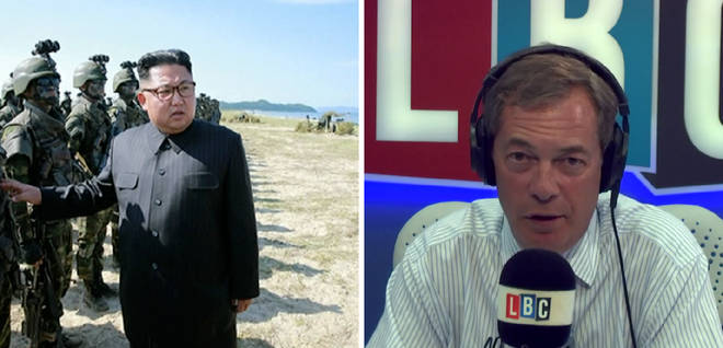 Kim Jong-un Nigel Farage