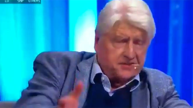 Stanley Johnson caused uproar on the Channel 4 programme