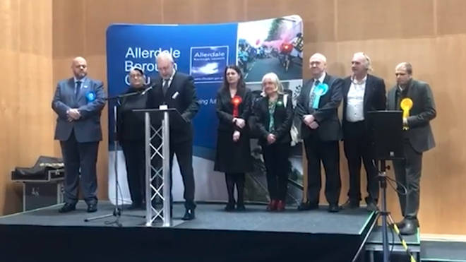 Tories win in Workington