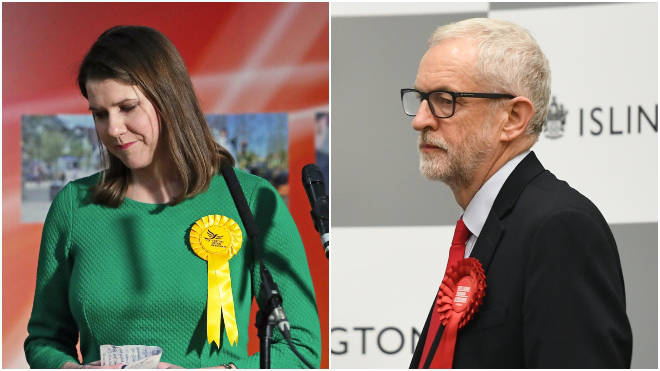 Swinson loses her seat and Corbyn will step down