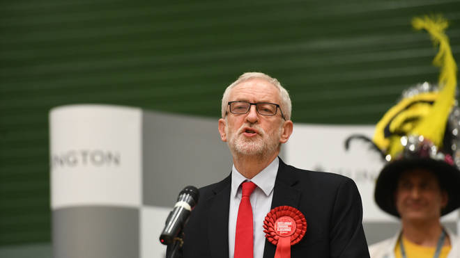 Jeremy Corbyn announced he would not lead his party into the next General Election