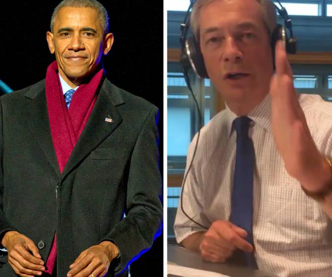 Farage Obama