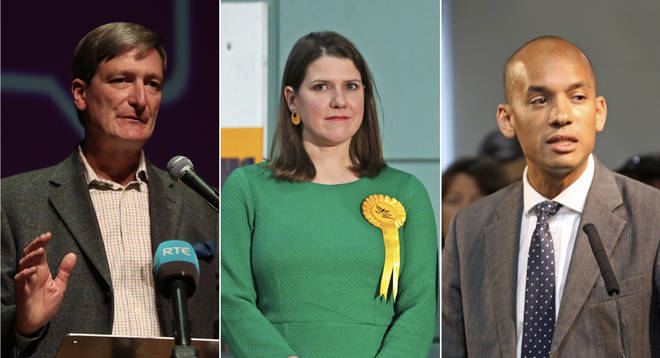 Dominic Grieve, Jo Swinson and Chuka Umunna lost their seats