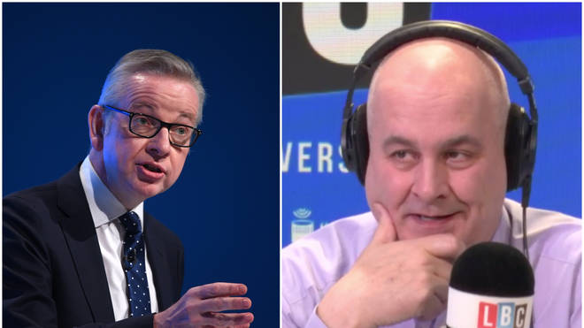 First order of responsibility is getting Brexit done, Michael Gove tells LBC