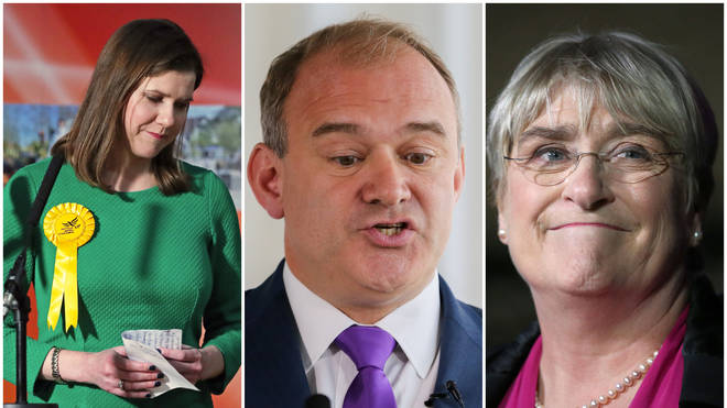 Ed Davey and Baroness Brinton become replace Jo Swinson as Lib Dem leaders
