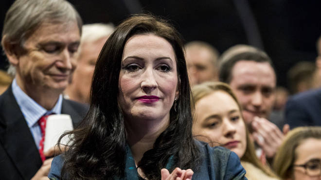 The DUP's Emma Little-Pengelly lost her seat in the general election this evening