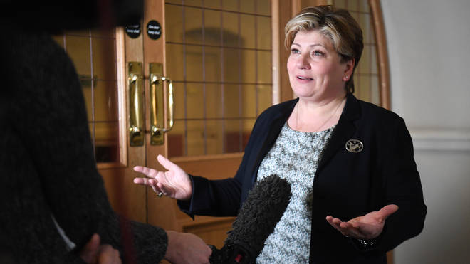 Emily Thornberry has previously clashed with Mr Boris at the despatch box