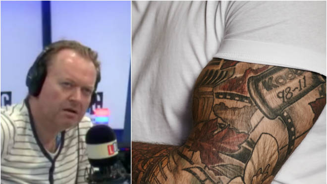Darren Adam was shocked by this caller's confession about tattoos
