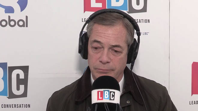 Nigel Farage tells Nick Ferrari what he plans to do post-Brexit