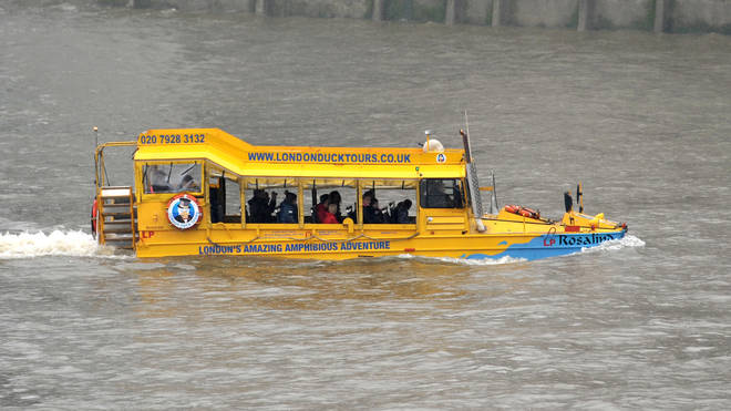 London Duck Tours, which will stop running next month