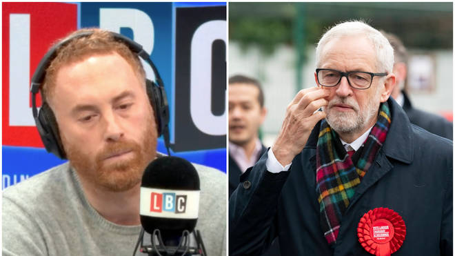 """Caller explains why she thinks Jeremy Corbyn wasn&squot;t popular """"north of the Watford gap"""""""