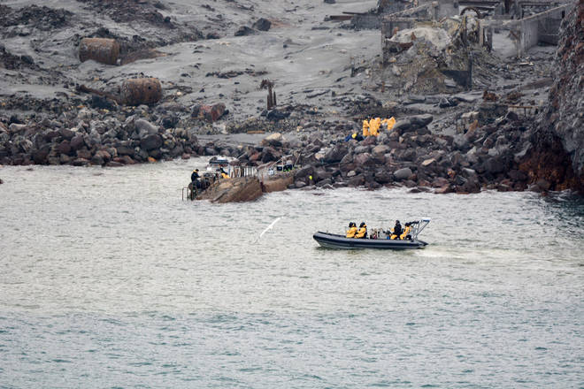 So far, six bodies have been recovered from the island