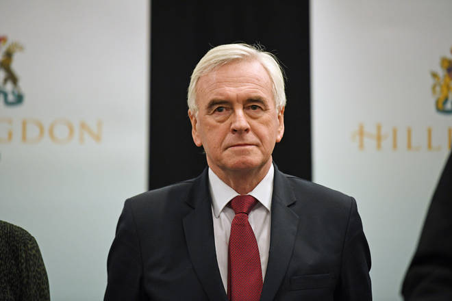 Labour's John McDonnell to quit front line politics after bruising election  result - LBC