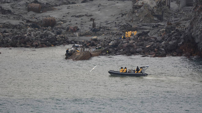 Rescuers are still working to retrieve bodies from White Island
