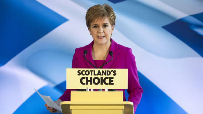 """She warned Boris Johnson: """"Scotland cannot be imprisoned in the Union against its will."""""""
