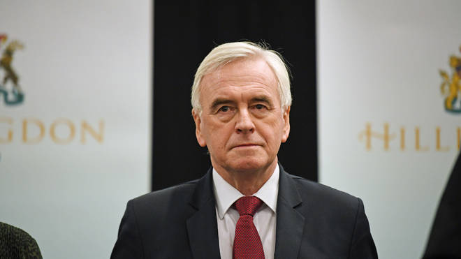Shadow Chancellor John McDonnell has also said he will be stepping down when Mr Corbyn does
