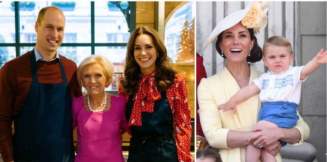 The Duchess of Cambridge loves the Bake Off legend