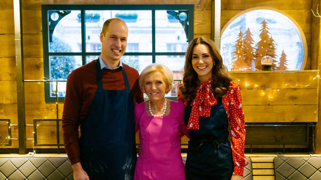 Kate and William are big fans of Mary Berry