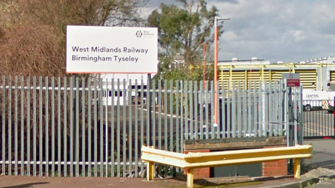 The driver died at the depot in Tyseley