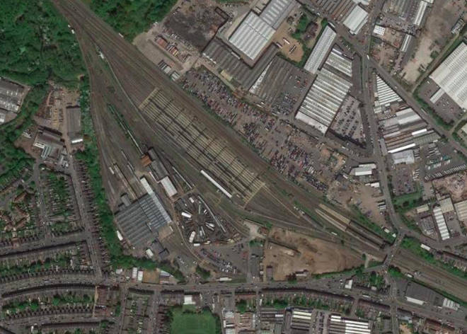 The incident happened at a rail depot in Tyseley, Birmingham