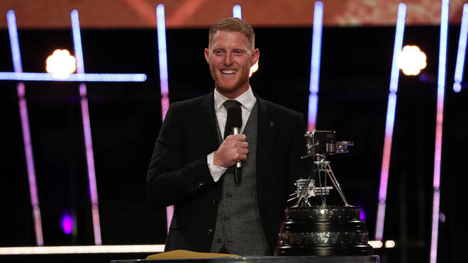 Ben Stokes was handed the award after a summer of victories as England cricket captain
