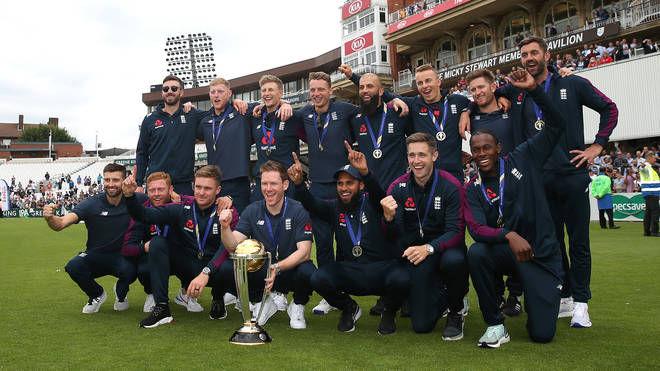 Ben Stokes and his cricket team won the Team of the Year Award at the ceremony