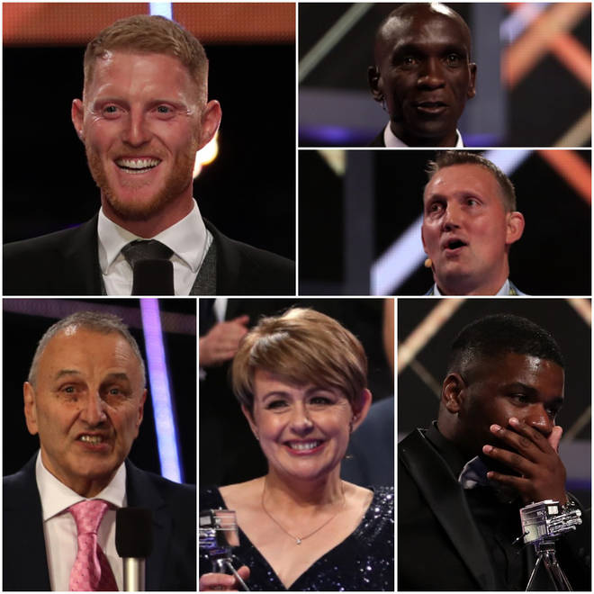 The BBC Sports Personality of the Year Award 2019 winners