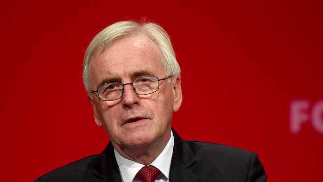 Labour's John McDonnell has apologised following the General Election result