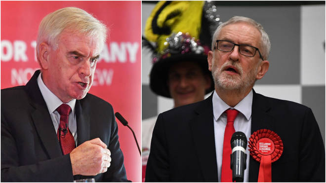 John McDonnell has apologised over Labour's election loss