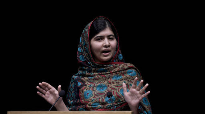 Picture of Malala Yousafzai who won the Nobel Peace Prize