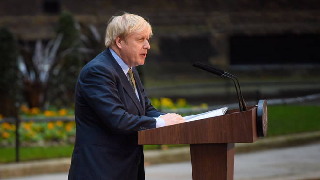 Boris Johnson's bill is set to be put before MPs on Friday
