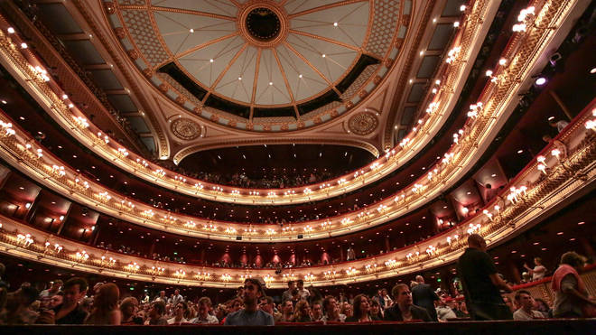 The attack allegedly took place at the Royal Opera House
