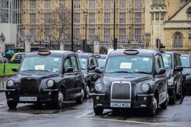 Black cabs charge extra on Christmas and Boxing Day