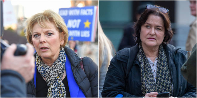 Brexiteer Amy Beth Dalla Mura repeatedly harassed Ms Soubry before standing against her in the general election