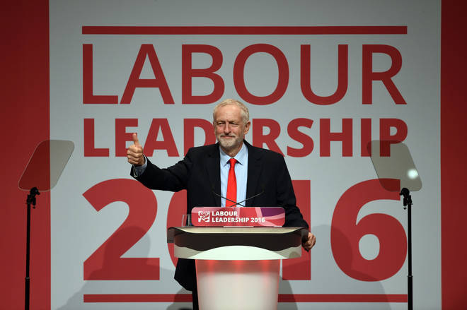 Corbyn was voted as leader for the second time in 2016