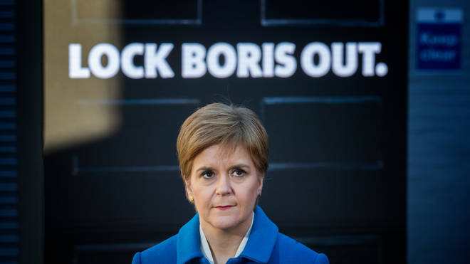 Nicola Sturgeon has been critical of the Prime Minister