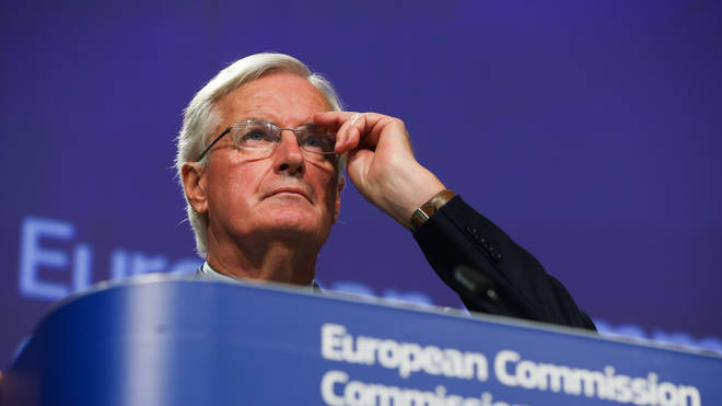 EU chief negotiator Michel Barnier cast doubt on the ability to get a deal done in 11 months
