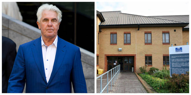 Max Clifford was imprisoned at HMP Littlehey before his death