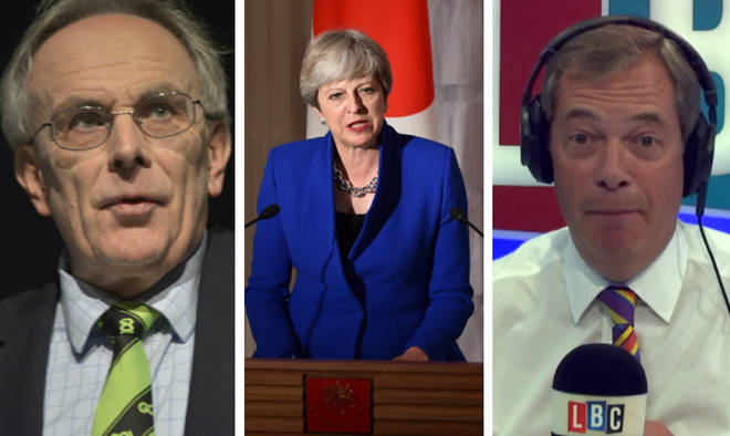 Peter Bone, Theresa May, Nigel Farage
