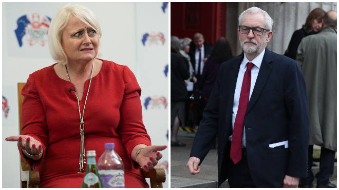 Siobhain McDonagh has called on Jeremy Corbyn to stand down immediately