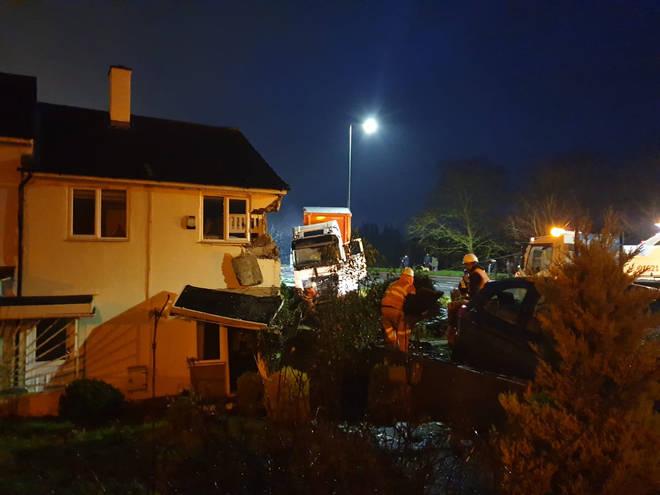 LBC News at the scene in Harlow