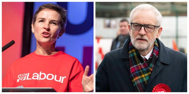 Mary Creagh and Jeremy Corbyn