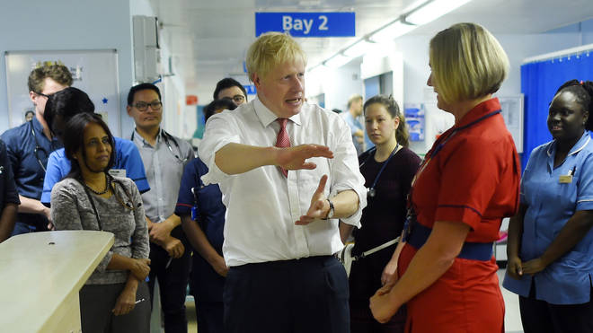 Boris Johnson made the pledge during the election campaign