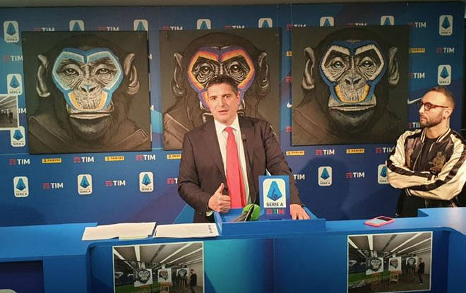 Serie A anti-racism campaign using monkey paintings branded 'sick joke'