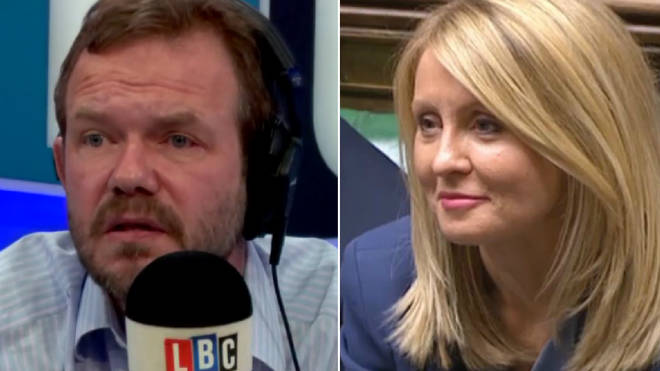 James O'Brien had strong words for Esther McVey