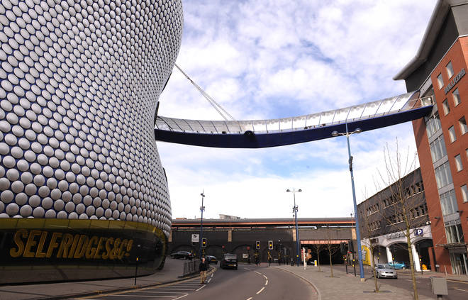 The Selfridges building at the Bullring Shopping Centre, Birmingham