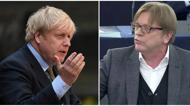 Verhofstadt warned Johnson his Brexit deal could be blocked